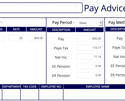 editable payslip template - payslip maker authentic detailed fast free instant